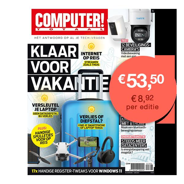 Afbeeldingsresultaat voor computer totaal magazine nederland cover
